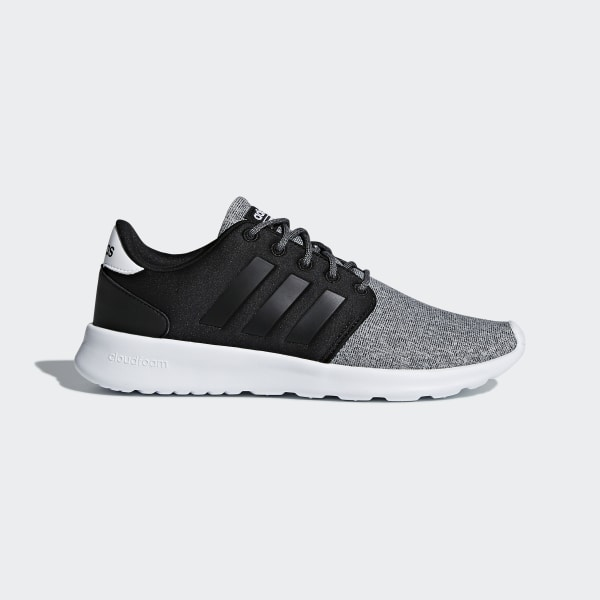 buy popular fbe3e ecf62 Cloudfoam QT Racer Shoes Core Black   Core Black   Core Black B43764