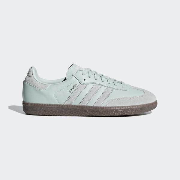 reputable site 1b8a5 3cf7f Samba OG Shoes Vapour Green   Ash Silver   Gold Metallic D98158