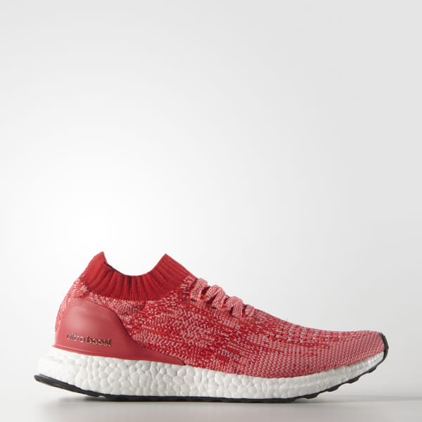 new style 5ca12 69d5c ULTRABOOST Uncaged Shoes Ray Red   Shock Red   Ray Pink BB3903