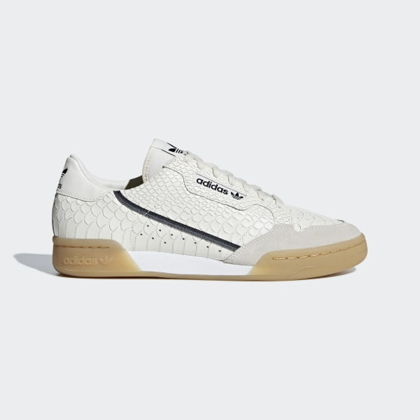 980ec42f89 adidas Continental 80 Shoes - Beige   adidas UK