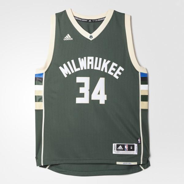 new arrival c1a6a 6a3ee adidas Bucks Giannis Antetokounmpo Swingman Jersey - Multicolor   adidas US
