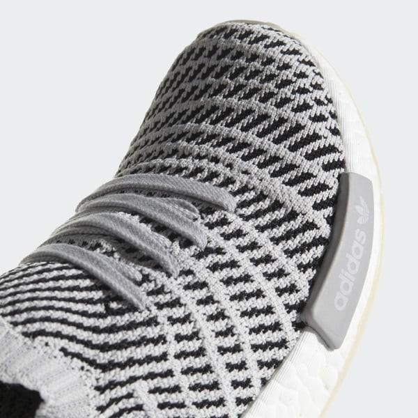 5be46a18444a0 NMD_R1 STLT Primeknit Shoes Grey Two / Grey One / Core Black CQ2387