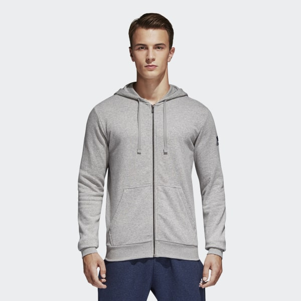 e5671b0b0 Blusa Capuz Essentials Base Fleece - Cinza adidas | adidas Brasil