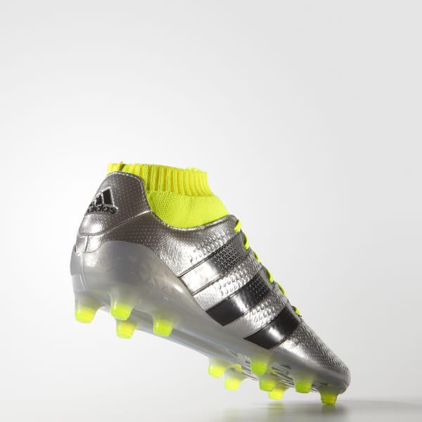 super popular b9c22 4471f adidas ACE 16.1 Primeknit Firm Ground Boots - Silver   adidas New Zealand