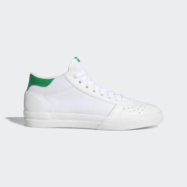 2eb17b43d35be adidas Lucas Premiere Mid Shoes - White | adidas UK