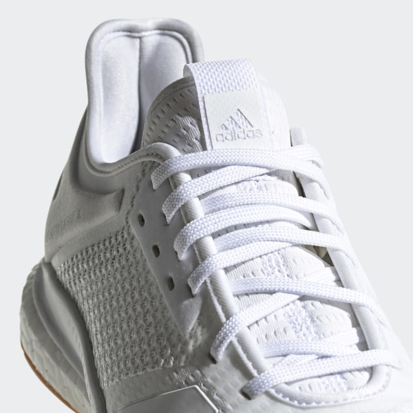 chaussures femme adidas crazyflight x 2 blanche