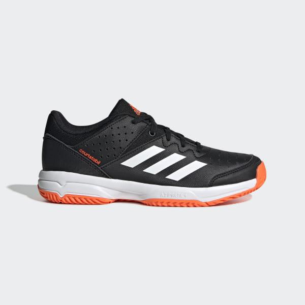 Chaussures adidas Court Stabil Junior noires