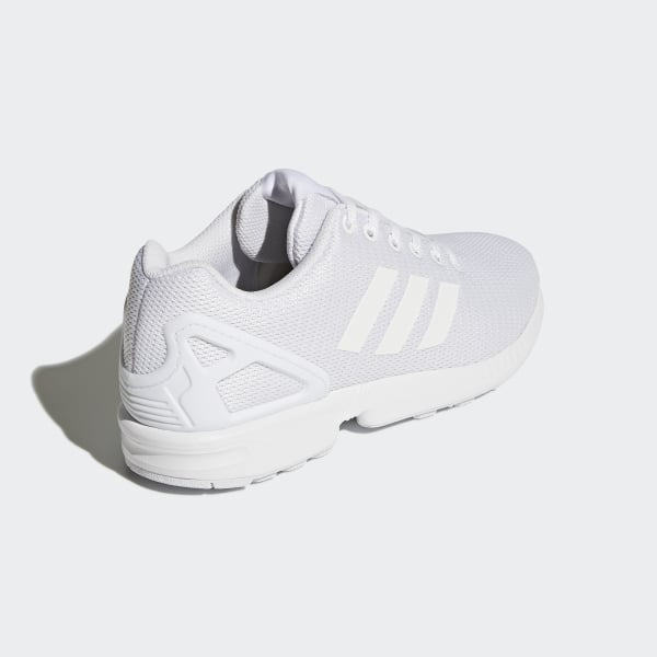 f437fd35dbf6c adidas ZX Flux Shoes - White | adidas US