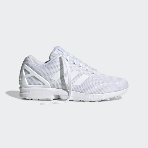 low priced 45f81 a6dcd adidas ZX Flux Shoes - White | adidas US