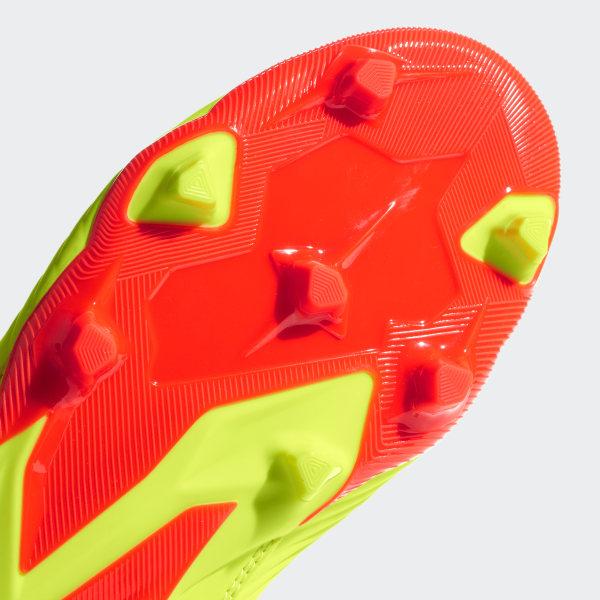 410112c64 Predator 18.3 Firm Ground Cleats Solar Yellow   Core Black   Solar Red  DB2319