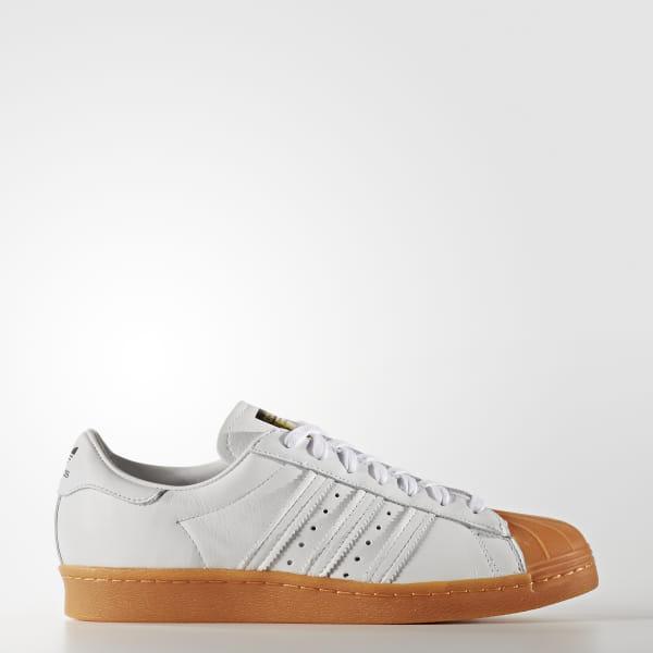 half off 06bbb ac3d0 Tênis Superstar 80s DLX - Branco adidas | adidas Brasil