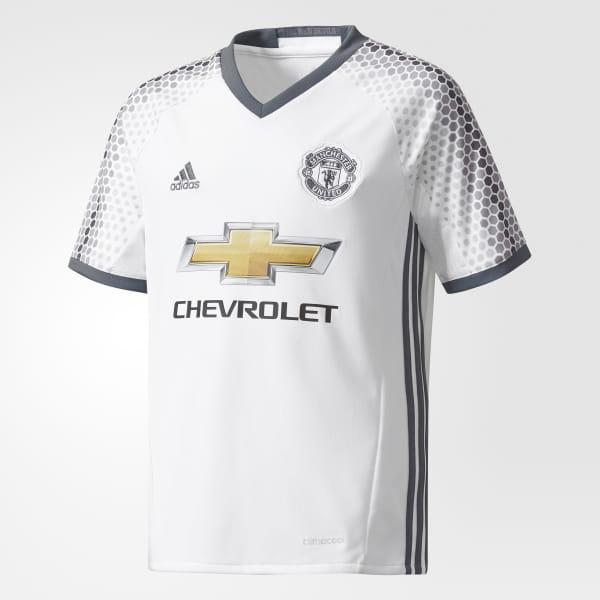 dd3e62862a Camisa Manchester United 3 Infantil - Branco adidas | adidas Brasil