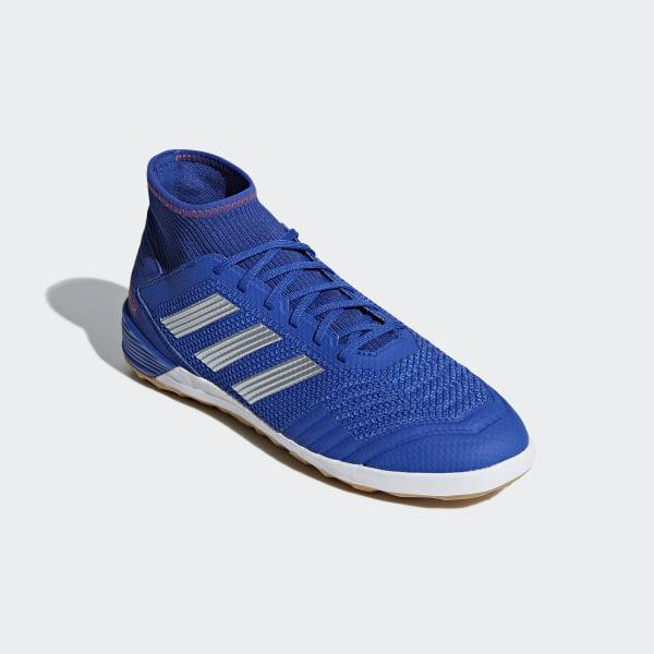 8916de0f220 Predator Tango 19.3 Indoor Shoes Bold Blue   Silver Metallic   Active Red  BB9080