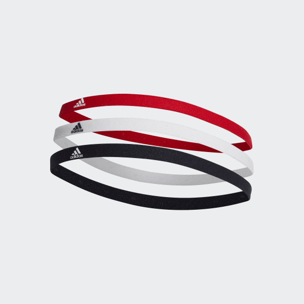 e7bc8bf91fd Hairband 3 Pack Multicolor / White / Active Red DU3271