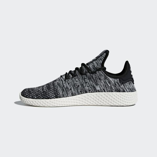 competitive price e0239 0e218 Pharrell Williams Tennis Hu Primeknit Shoes Chalk White   Core Black    Cloud White CQ2630