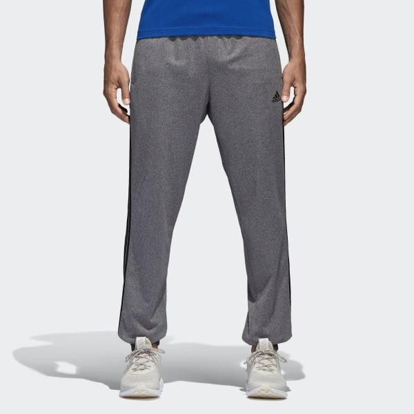 44b429127 Essentials 3-Stripes Pants Solid Grey / Black B47221