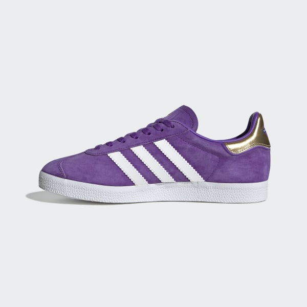 5be81260a76 Originals x TfL Gazelle Shoes Collegiate Purple   Ftwr White   Gold Met.  EE8109