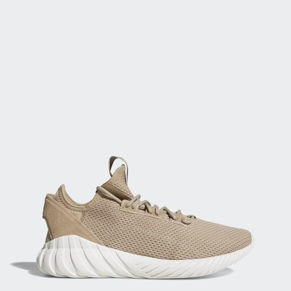 52131d65bf4d5 Tubular Doom Sock Shoes Trace Khaki / Trace Khaki / Crystal White BY3562