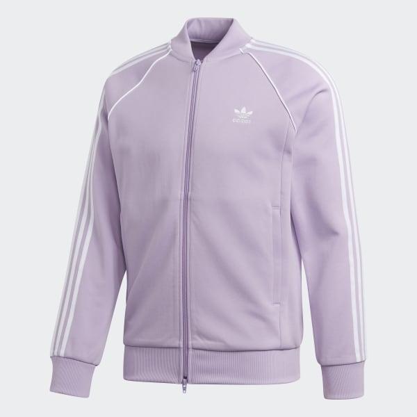 adidas SST TT jacket purple