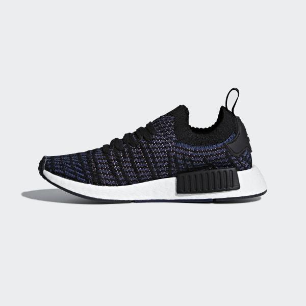new style d312c 9fb68 adidas NMD_R1 STLT Primeknit Shoes - Black | adidas Australia