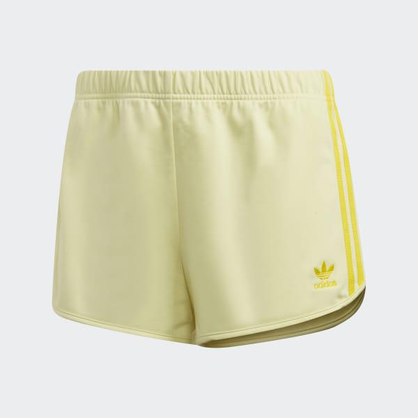 Short 3 Stripes Jaune adidas | adidas France