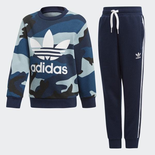 9c5a87e53acf adidas Camouflage Sweatshirt Set - Multicolour   adidas UK