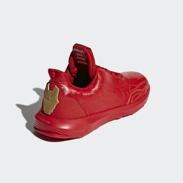 07a1d57a5c6 RapidaRun Avengers Shoes Scarlet   Scarlet   Matte Gold AH2439