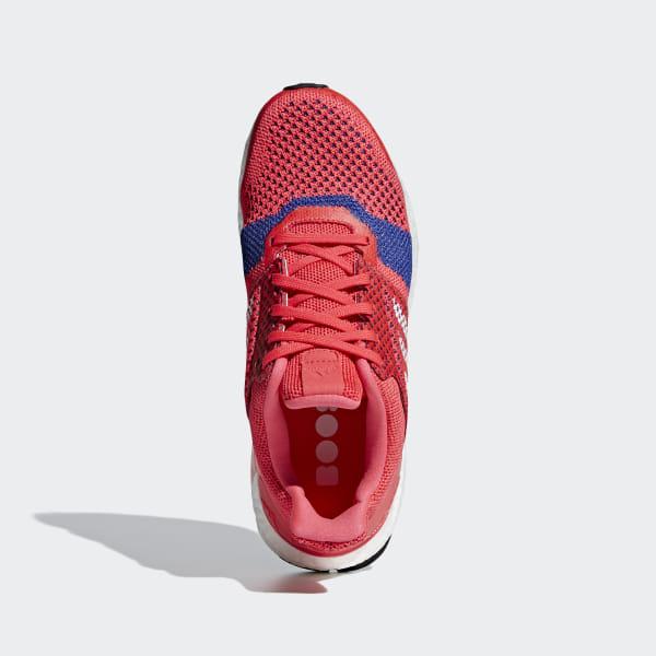 new concept c3d8f 65b7b adidas Ultraboost ST Shoes - Red | adidas Ireland