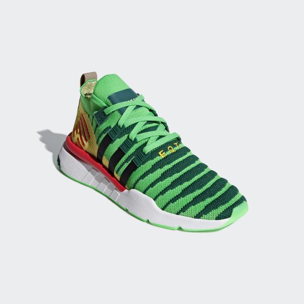3bb18b17f35 adidas Dragonball Z EQT Support Mid ADV Primeknit Shoes - Green | adidas US