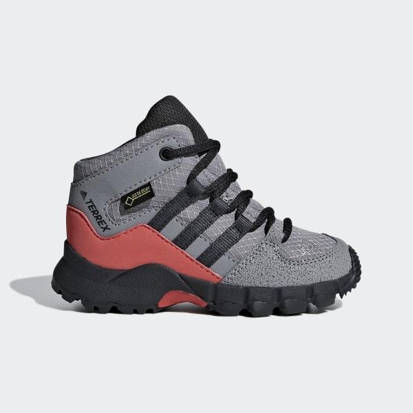 5d982a1976a45 Sapatos Terrex Mid GTX Grey Three / Carbon / Matte Silver D97656
