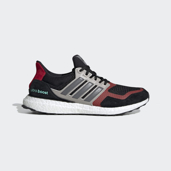 adidas ultra boost grey and red