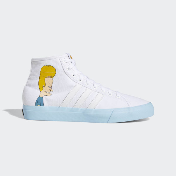c3ee01a915 Matchcourt High Remix Beavis & Butthead Shoes Cloud White / Icey Blue /  Core Black DB3379