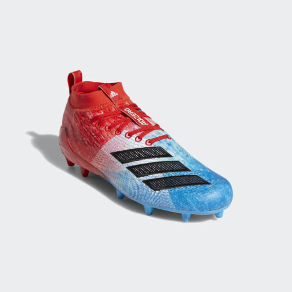 a6672b3df Adizero 8.0 Cleats Shock Cyan   Core Black   Active Red F35080
