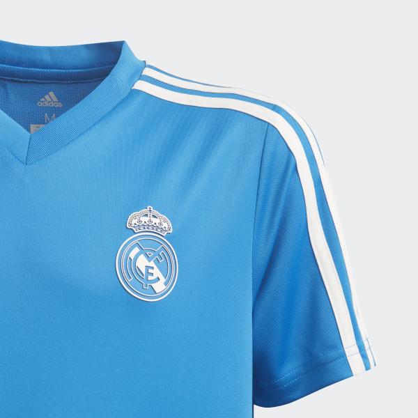 on sale b92f0 725e5 adidas Real Madrid Training Jersey - Blue | adidas Finland