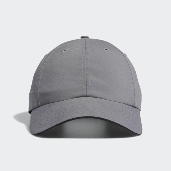 b2fbee56c7e45 adidas Relax Performance Crestable Hat - Grey