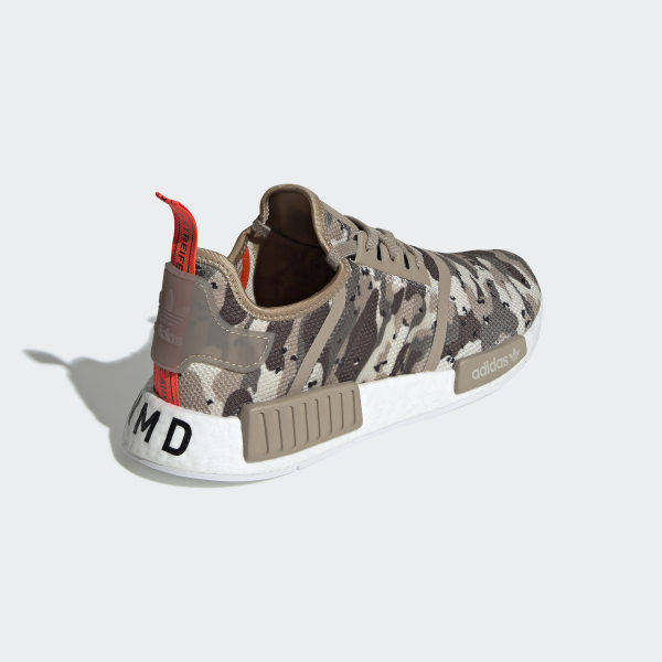 da3b67815f0 NMD_R1 Shoes clear brown / clear brown / solar red G27915