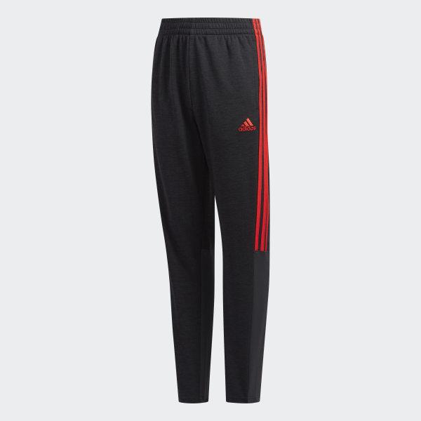 3057e46765 adidas YOUTH MELANGE MESH PANT - Black   adidas US