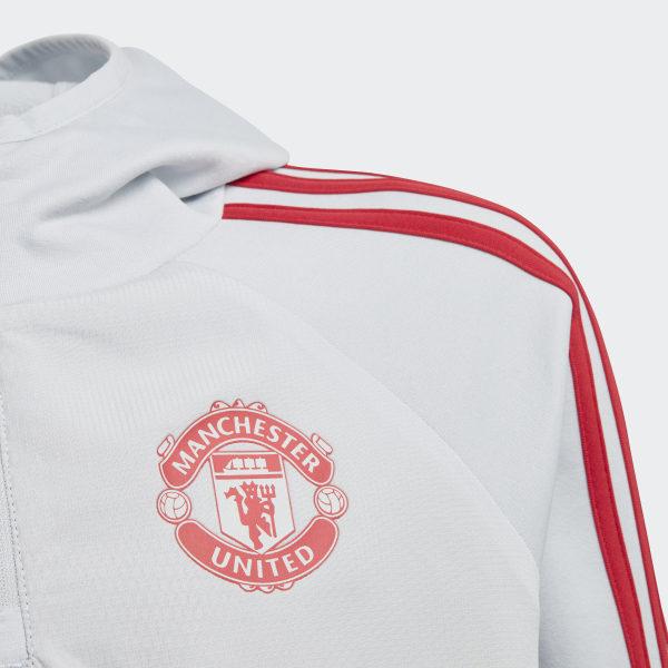 ed53fae41 adidas Bluza Manchester United Warm - szary | adidas Poland