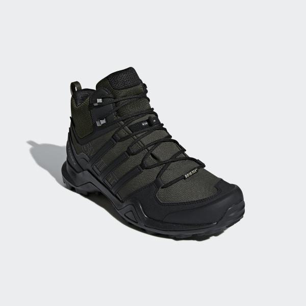 2f3cdb0e1af adidas Terrex Swift R2 Mid GTX Shoes - Green | adidas US