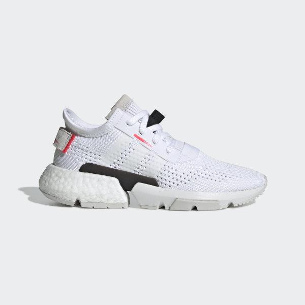 on sale 67750 8c5de POD-S3.1 Shoes Cloud White   Cloud White   Shock Red G27946