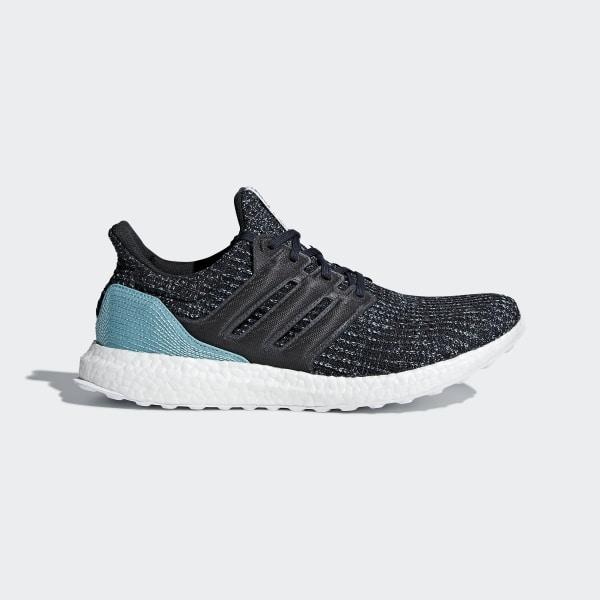 size 40 bb80d 7f4ac Ultraboost Parley Shoes Carbon   Carbon   Blue Spirit CG3673