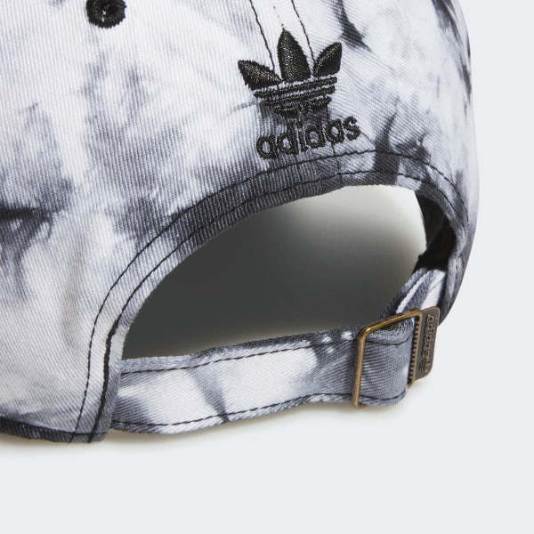 4c08cb16b adidas Relaxed Tie-Dye Strap-Back Hat - Black   adidas US