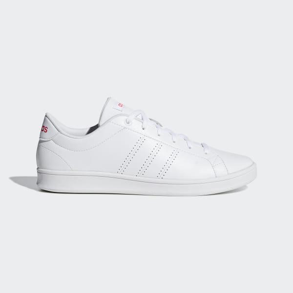 25796249 Advantage Clean QT Shoes Ftwr White / Ftwr White / Shock Red F34710