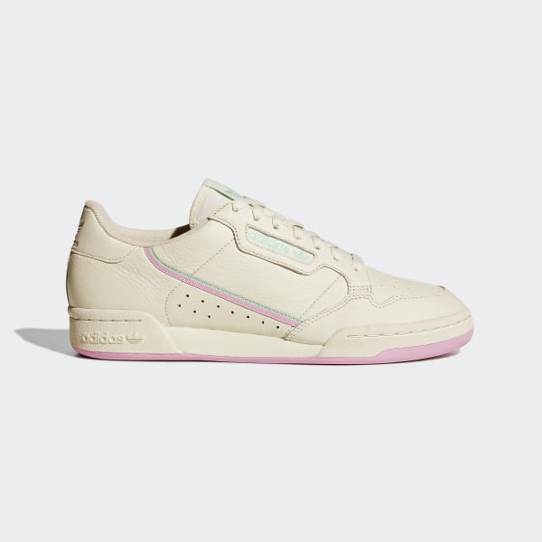 Adidas Continental 80 Off White True Pink Clemin BD7645 | Bruut Online shop