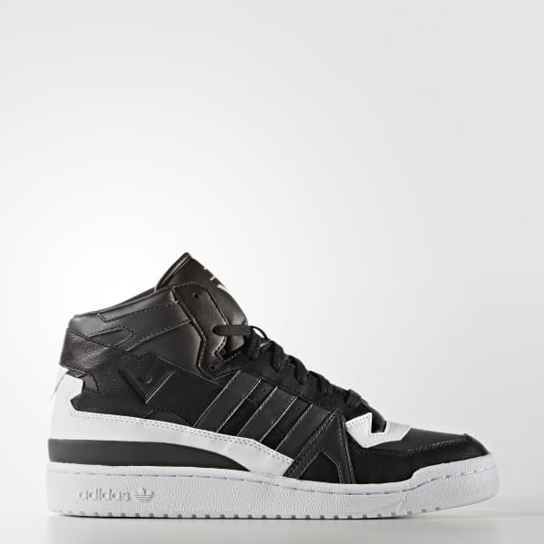 adidas White Mountaineering Forum Mid Shoes Black | adidas US