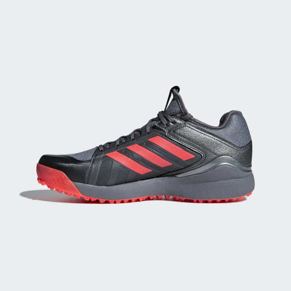 new arrival a36ec 007ac Hockey Lux Shoes Core Black   Solar Red   Night Met. AC8770