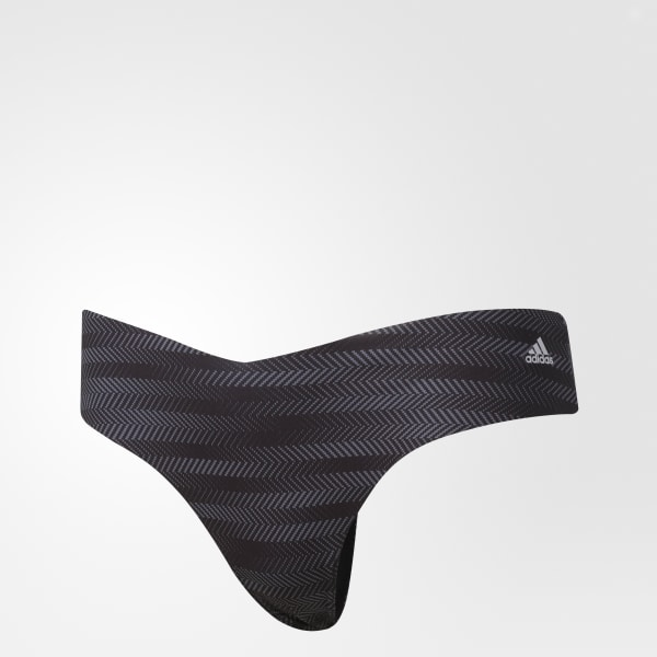 01ac7f21cd92 adidas Seamless Thong Underwear 1 Pair - Black | adidas US