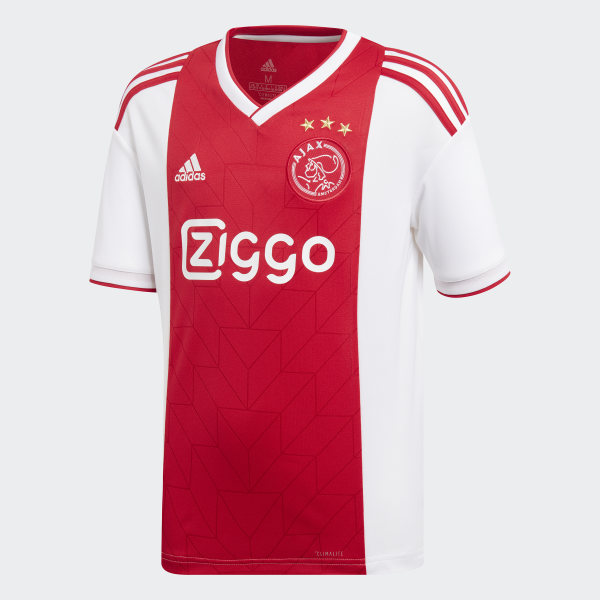 b4a9017ba Camiseta primera equipación Ajax White   Bold Red CF5472
