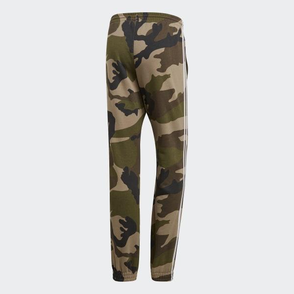 adidas Originals Pants Camo Fleecepant Multicolor