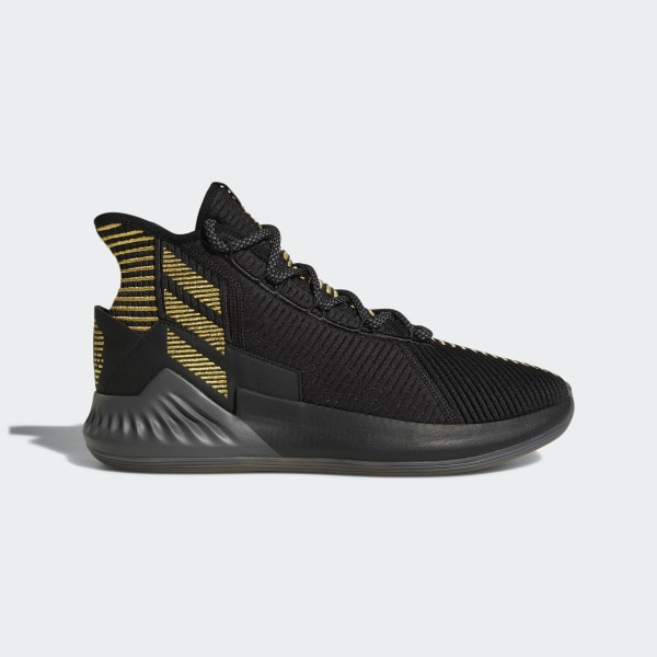 7c9088a5d7d D Rose 9 Shoes core black   grey five   gold met. BB7657